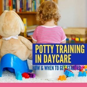 Potty Training in Daycare